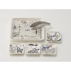 動物柄の食器 &Bird(アンドバード)フライドディッシュセット